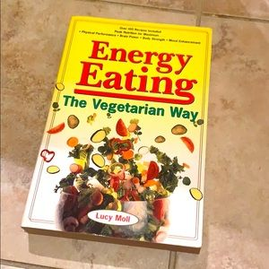 ENERGY EATING The Vegetarian Way by L. Moll 🥗